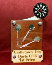 Wooden Darts Trophy